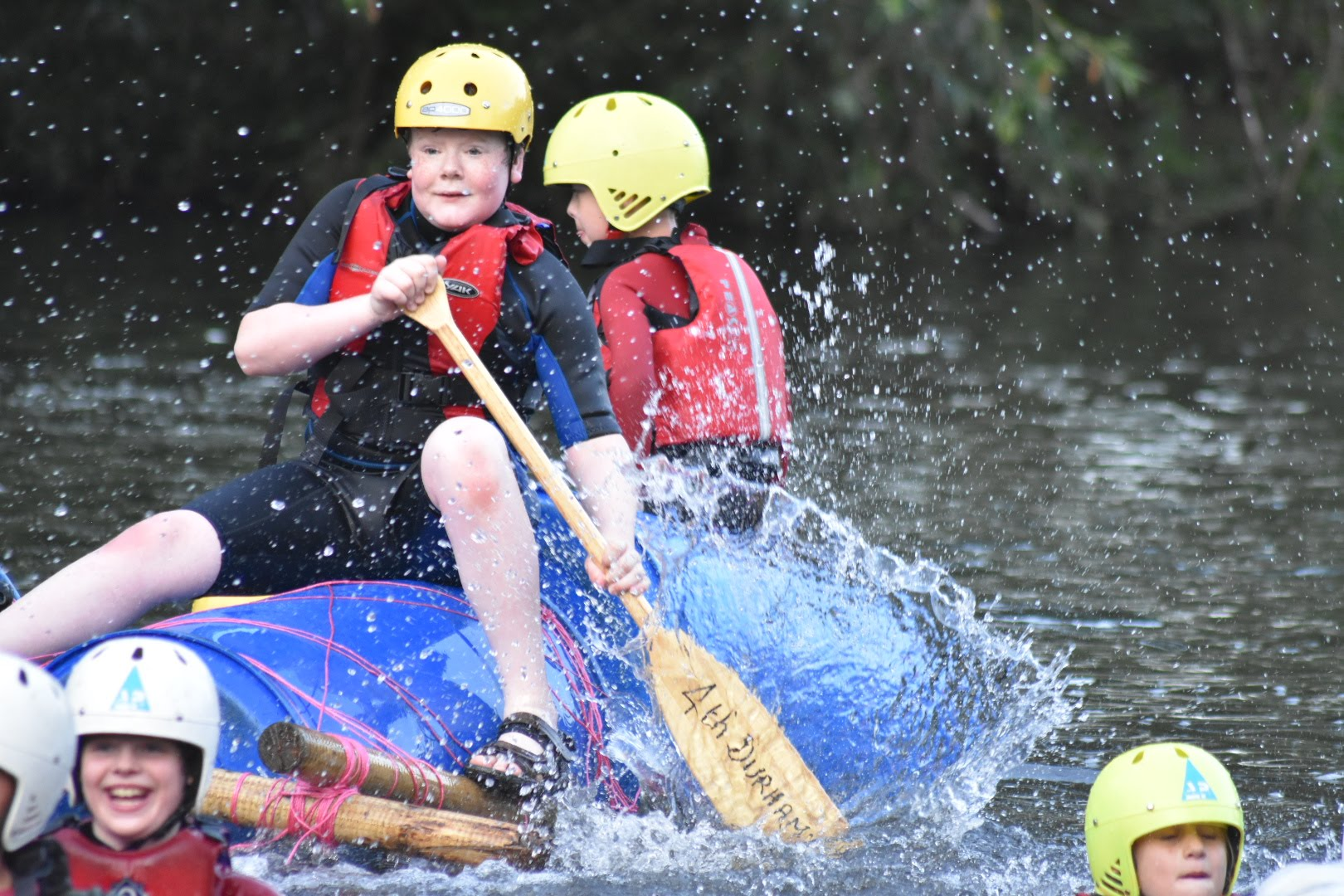 District Raft Race 2019 – Scouts
